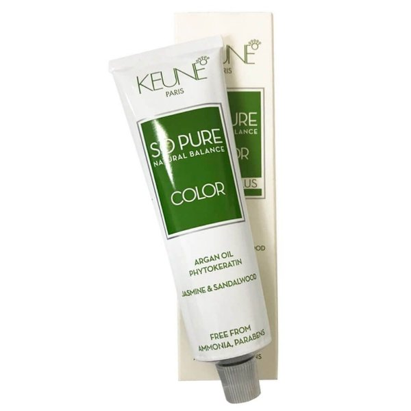 Coloração So Pure Natural Balance Cover Plus Keune 8.00 Louro Claro 60g