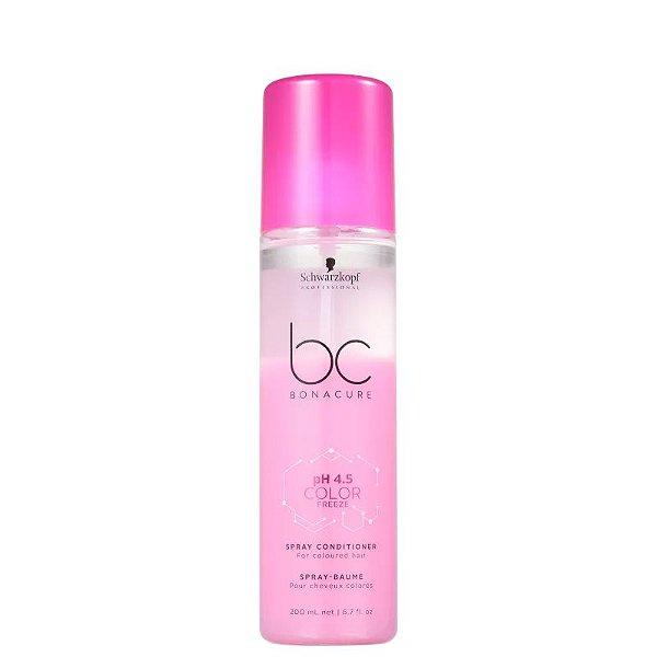 Condicionador Spray Leave-In pH 4.5 Color Freeze Schwarzkopf Professional Bonacure 200ml