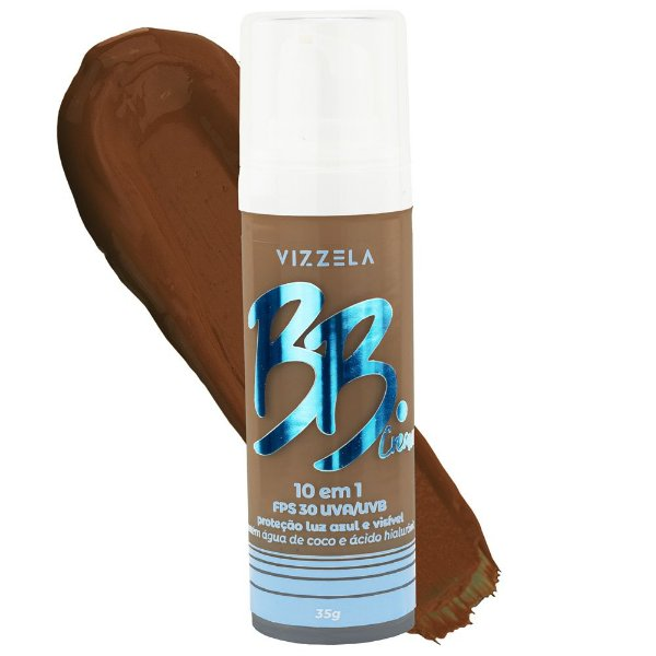 BB Cream FPS 30 Vegano Vizzela Cor 07 30G