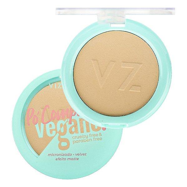 Pó Compacto Vegano Vizzela Cor 02 9G