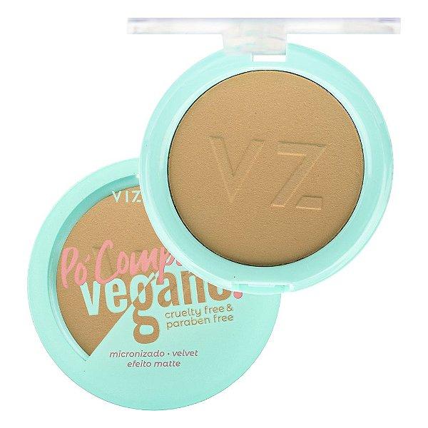 Pó Compacto Vegano Vizzela Cor 04 9G