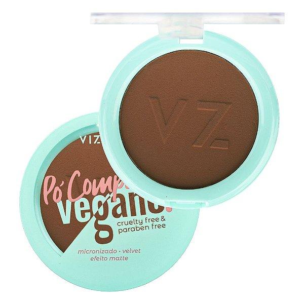 Pó Compacto Vegano Vizzela Cor 10 9G