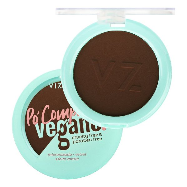 Pó Compacto Vegano Vizzela Cor 11 9G