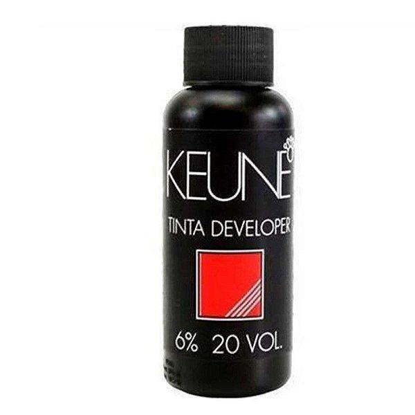 Água Oxigenada Keune Tinta Developer 20 Volumes (6%)  60ml