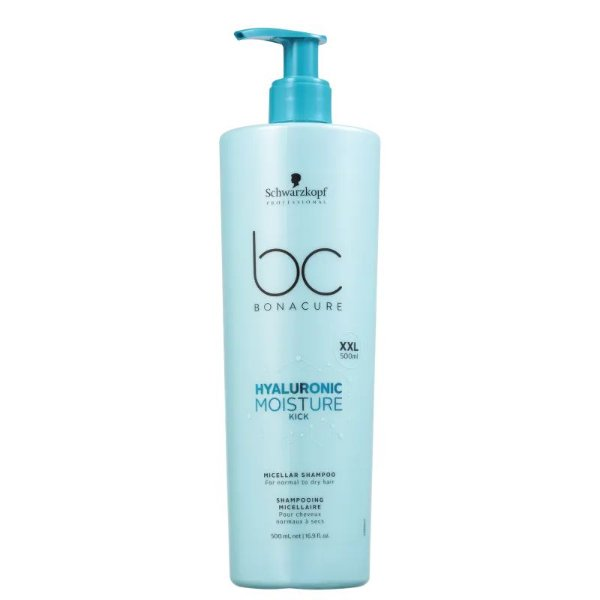 Shampoo Hyaluronic Moisture Kick Micellar Schwarzkopf Professional Bonacure 500ml