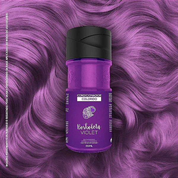Condicionador Colorido Kamaleão Color Cor Borboleta Violet 150ml