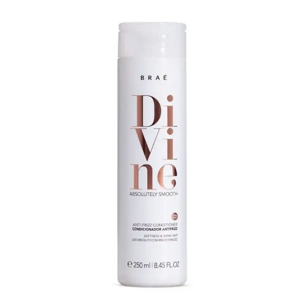 Condicionador Anti-Frizz Divine Braé 250ml