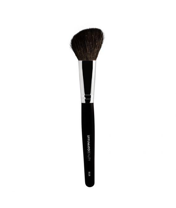 Pincél Sffumato Beauty S18 Chanfrado para Blush e Contorno em Pó