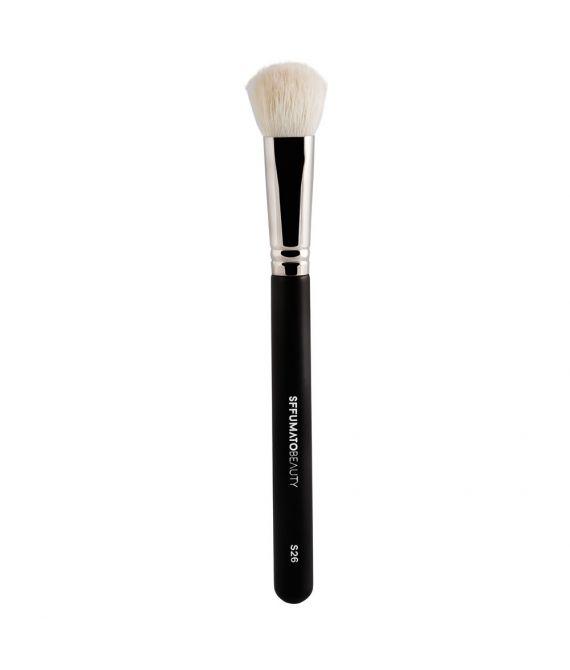 Pincél Sffumato Beauty S26 para Contorno em Pó e Aplicação de Iluminador