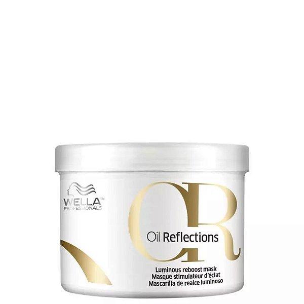 Máscara Tratamento Wella Professionals Oil Reflections Luminous Reboost 500g