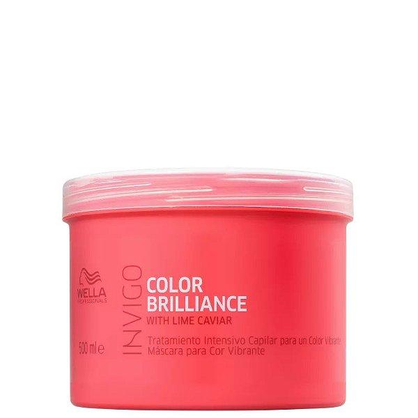 Máscara Tratamento Wella Professionals Invigo Color Brilliance 500g