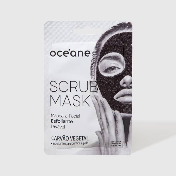 Scrub Mask Máscara Facial Esfoliante Oceane 15ml