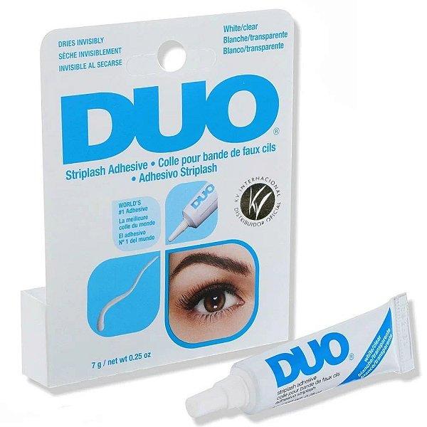DUO Eyelash Adhesive Clear White Cola para Cílios 7g (Original)