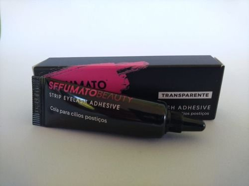 Cola de Cílios Postiços Transparente Sffumato Beauty 7ml