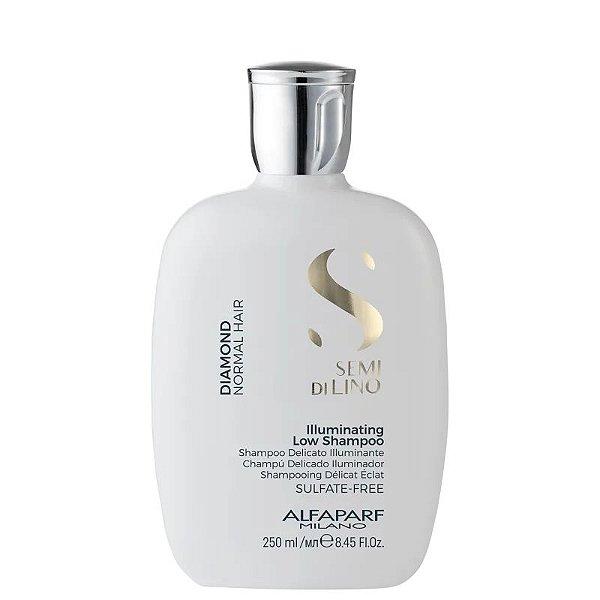 Shampoo sem Sulfato Semi Di Lino Diamond Illuminating Alfaparf 250ml