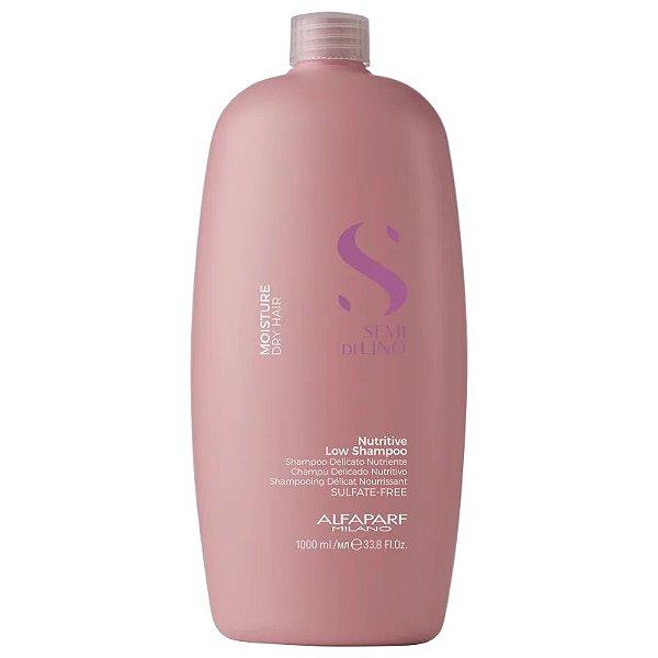 Shampoo sem Sulfato Semi Di Lino Moisture Nutritive Alfaparf 1000ml
