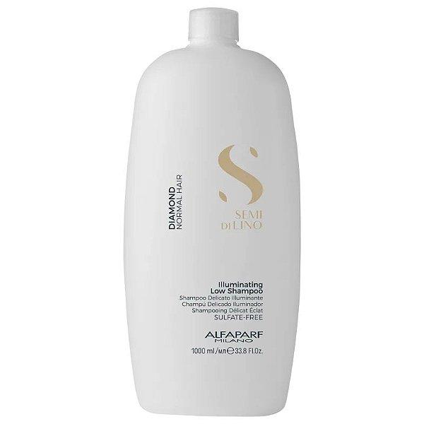 Shampoo sem Sulfato Semi Di Lino Diamond Illuminating Alfaparf 1000ml