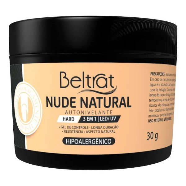 Gel Hard Nude Natural Autonivelante Beltrat 30g