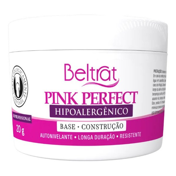 Gel Pink Perfect Hipoalergênico Beltrat 20g