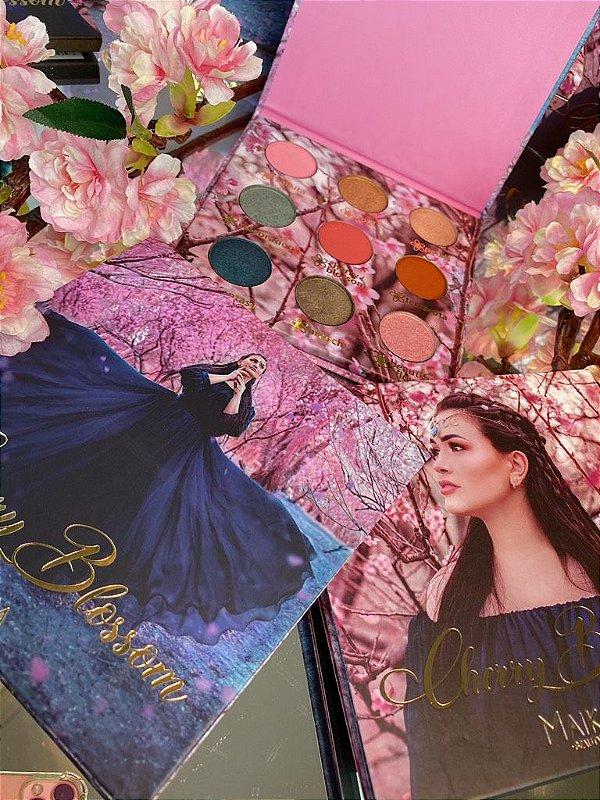 Paleta de Sombras Cherry Blossom Maika Beauty 11,7G