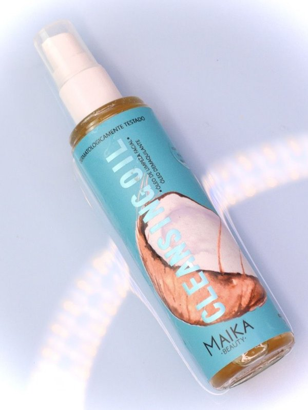 Cleansing Oil  Óleo de Limpeza Facial Óleo Demaquilante Maika Beauty 90ml