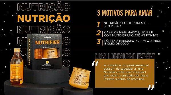 Kit Edição Limitada L'Oréal Professionnel Serie Expert Nutrifier Shampoo 300ml + Máscara 250g