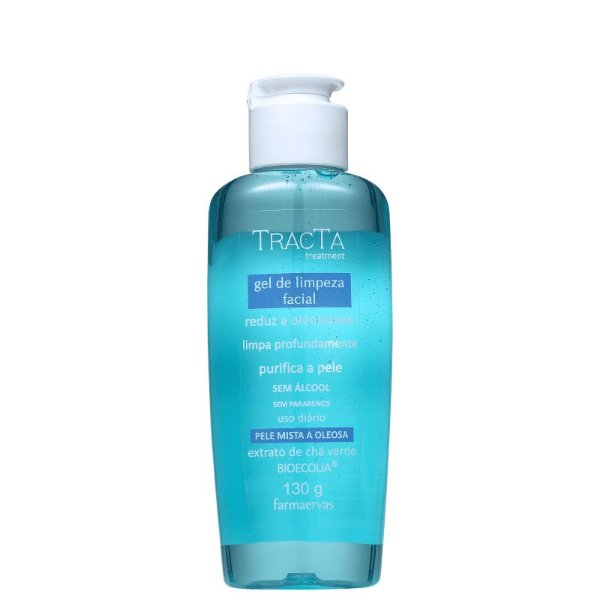 Gel de Limpeza Facial Tracta Treatment 130ml