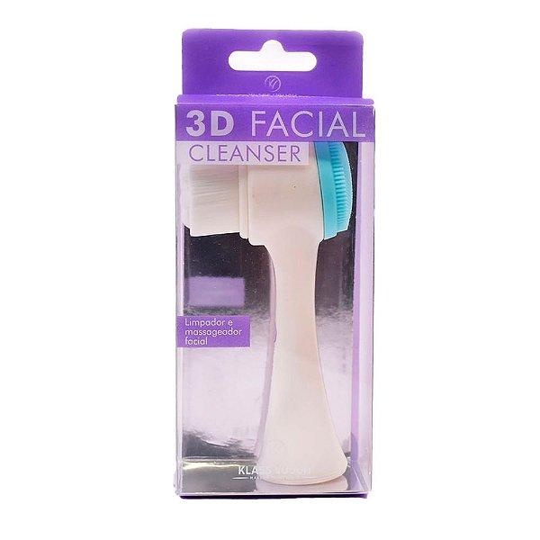 Escova de Limpeza Facial Klass Vough 3D Facial Cleanser 1Un