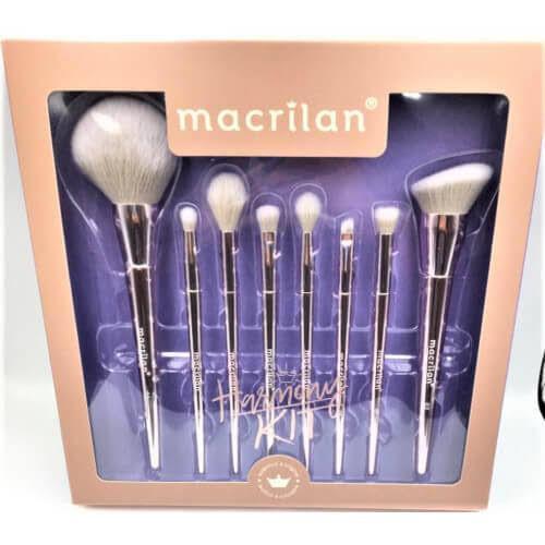 Kit com 8 Pincéis Harmony Macrilan