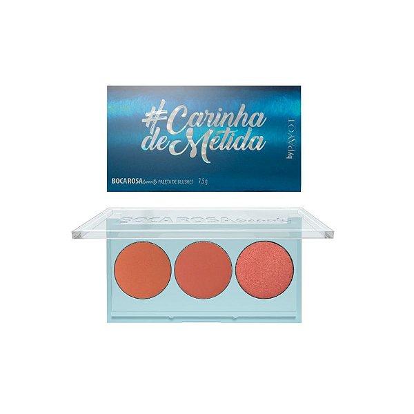 Paleta de Blush Boca Rosa #CARINHADEMETIDA 7,5g