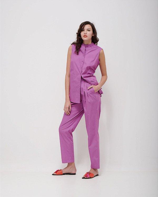 Calça Pijama Versátil em Tricoline Premium