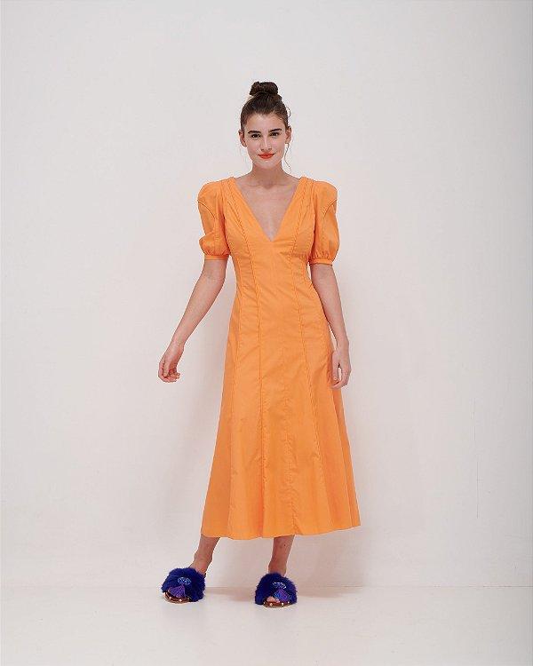 Vestido Tipo Vernissage em Tricoline Premium