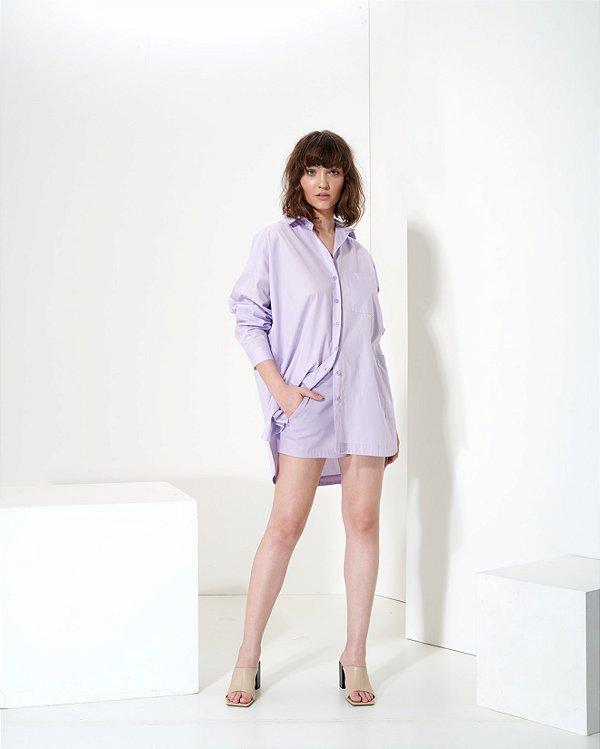 Shorts Mini em Sarja