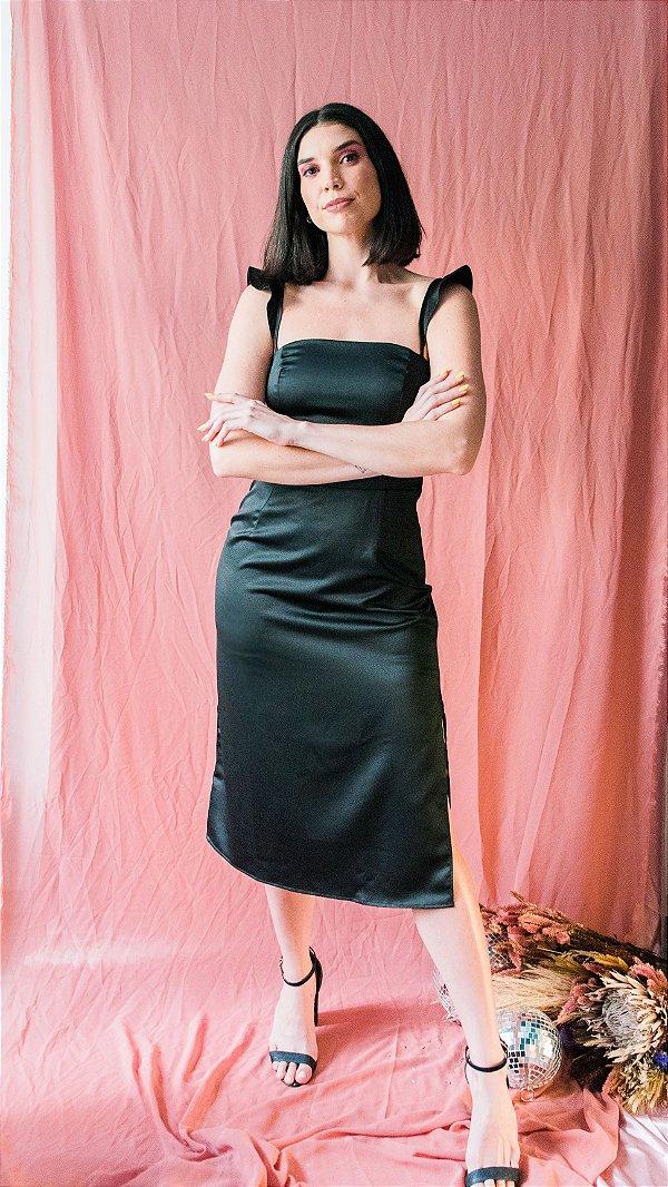 Vestido Olympia - preto