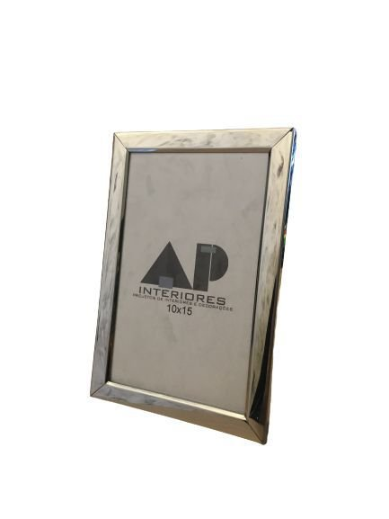 Porta Retrato Prata em Metal