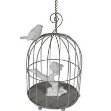Gaiola Decorativa com Pássaros