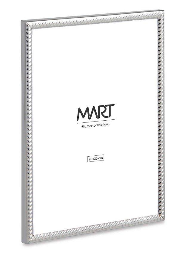 Porta Retrato Prata em Metal 20x25
