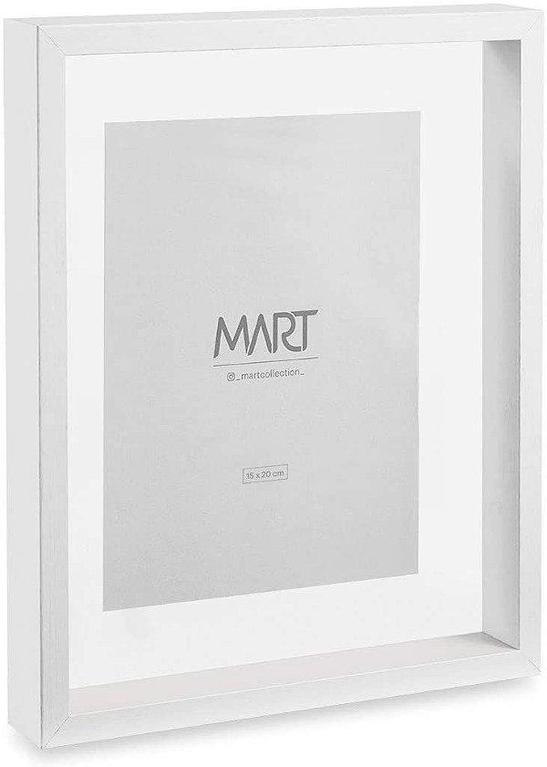 Porta Retrato em Mdf Branco  15X20