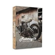 Caixa Livro Motorcycle Chopper & Bobber
