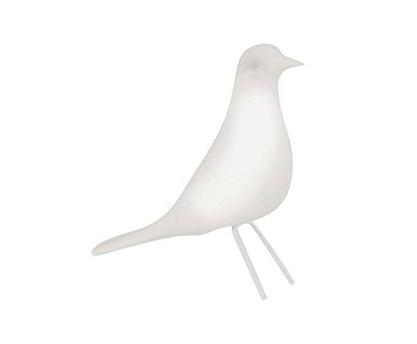 Pássaro Branco em Cerâmica G
