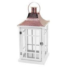 Lanterna Madeira Branco M