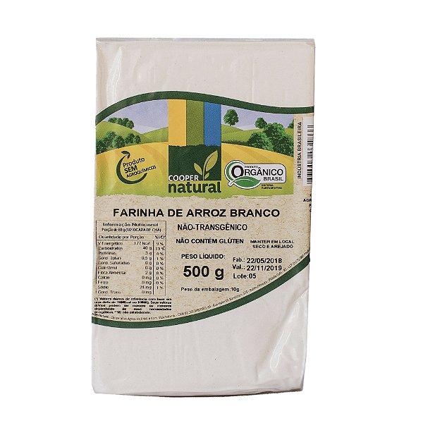 Farinha de Arroz Branco 500g - Sem glúten
