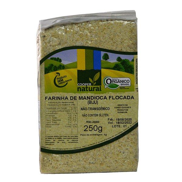 Farinha de Mandioca Flocada (BIJU) 250g - Sem glúten