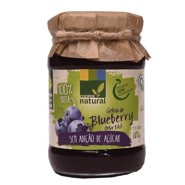 Geleia de Blueberry 180g (Mirtilo) - Sem adição de açúcar