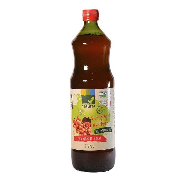 Suco de Uva Rosé 1 Litro (Extração a frio - Tecnologia Alemã