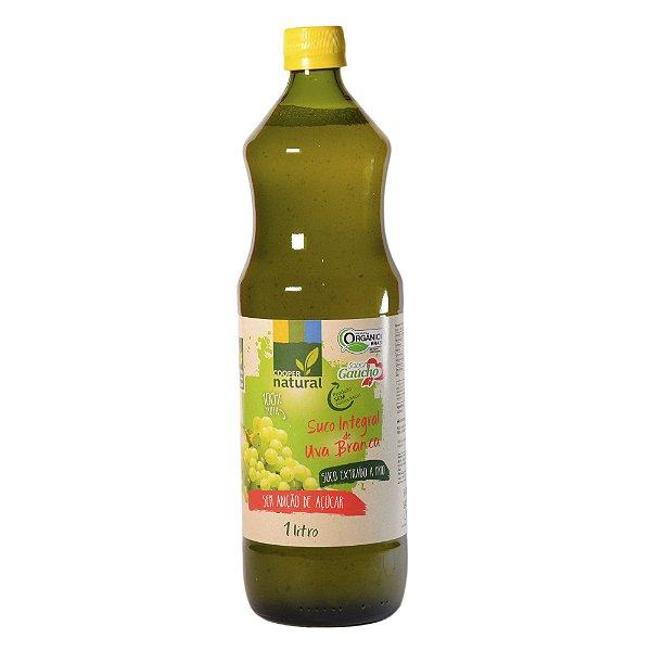 Suco de Uva Branca Niágara Integral 1 Litro (Extração a frio - Tecnologia Alemã)