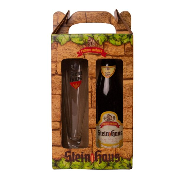 Kit Copo 385ml + Cerveja German Pilsen 500ml