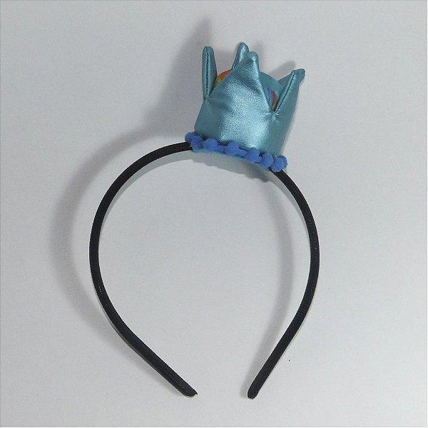 Tiara - Coroa Azul