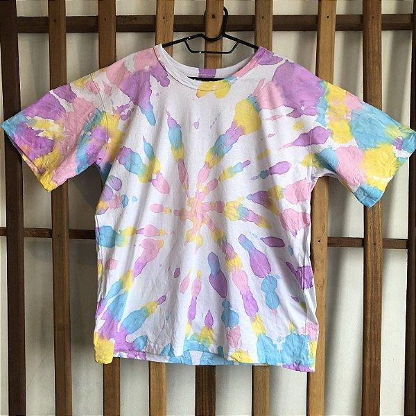 Camiseta Tie Dye Espiral