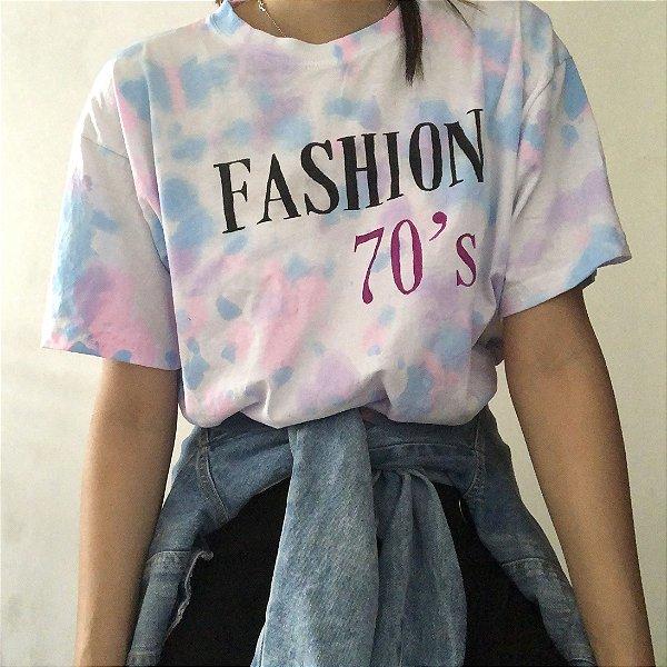Camiseta Fashion 70s